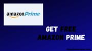 Get Free Amazon Prime